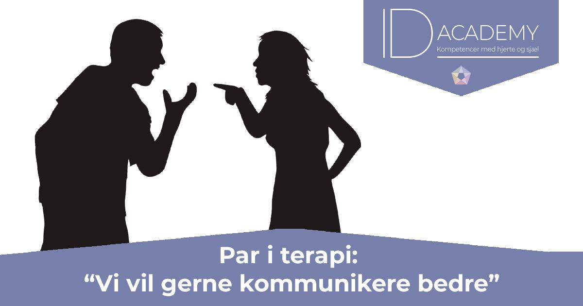 Par i terapi: Vi vil gerne kommunikere bedre